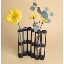 Six-tube Hinged Vase