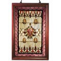 Tiffany-style Classic Wooden Window Panel