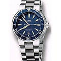 Oris Diver Men&#39;s Stainless Steel Blue Dial Watch