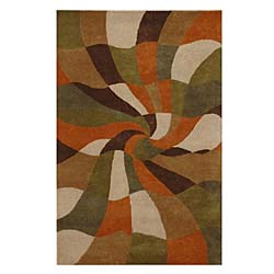 Hand-tufted Esquire Wool Rug (8' x 10'6)