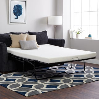 Select Luxury New Life 4.5-inch Full-size Memory Foam Sofa Bed Sleeper Mattress