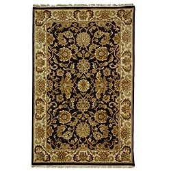 Safavieh Hand-knotted Cola/ Beige Legacy Wool Rug (5' x 8')
