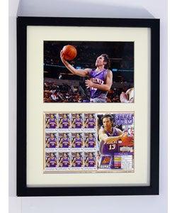 Steve Nash Framed Stamp Collection