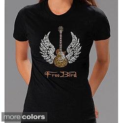 Lynyrd Skynyrd 'Freebird' Lyrics Women's T-shirt