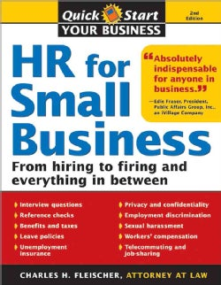 HR for Small Business: An Essential Guide for Managers, Human Resources Professionals, and Small Business Owners (Paperback)