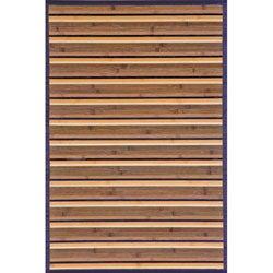 Beige Bamboo Area Rug (8' x 10')