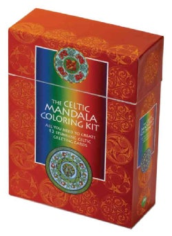 The Celtic Mandala Coloring Kit: All You Need to Create 12 Stunning Mandala Celtic Greeting Cards (Hardcover)