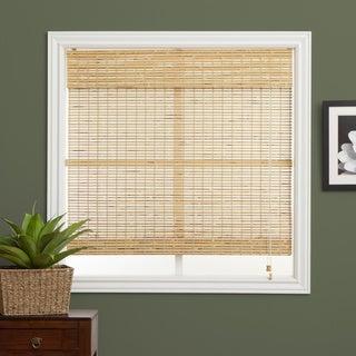 Petite Rustique Bamboo 54-inch Long Roman Shade