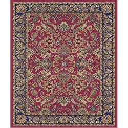 Sultanabad Red Rug (3'11 x 5'3)