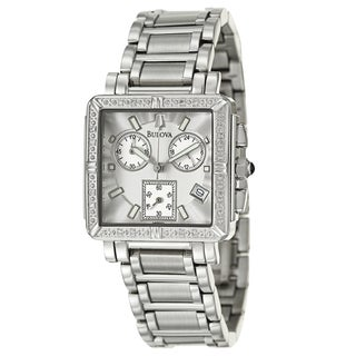 Bulova Women's 96R000 Stainless Steel Diamond Watch