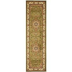 Safavieh Lyndhurst Collection Sage/ Ivory Indoor/Outdoor Runner (2'3 x 14')