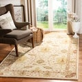 Handmade Oushak Ivory Wool Rug (9&#39; x 12&#39;)