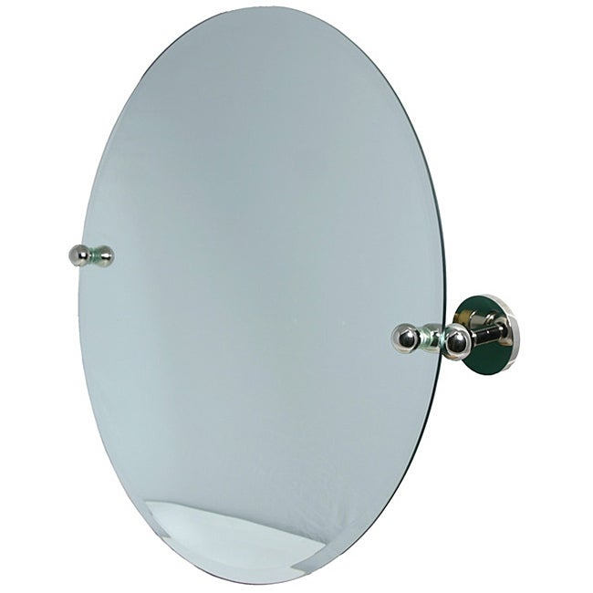 Round Beveled Edge Bathroom Tilt Wall Mirror Overstock Shopping Big Discounts On Allied