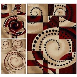 Virginia Spiral Rug (3'3 x 4'11)