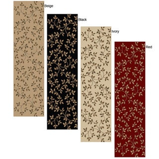 Olefin Virginia Floral Runner Rug (2'2 x 7'7)