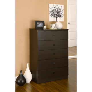 Modern 5-drawer Wood Chest