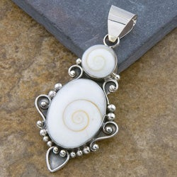 Shiva Shells Sterling Silver Pendant (Indonesia)