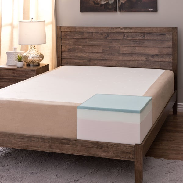 Comfort Dreams Select-A-Firmness 11-inch Queen-size Memory Foam Mattress