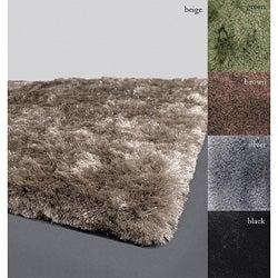 Handmade Contemporary Mandara Shag Rug (8' x 11')
