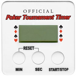 Official Poker Tournament Timer for Texas Hold 'em