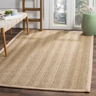 Safavieh Handwoven Sisal Natural/Beige Seagrass Area Rug (6' x 9')