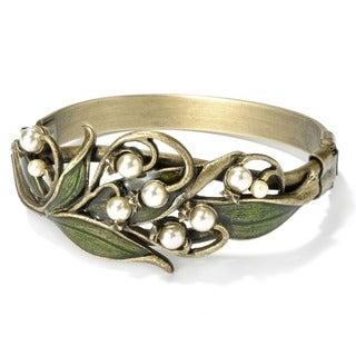 Sweet Romance Art Nouveau Lily of the Valley Bracelet