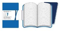 Moleskine Volant Ruled Notebooks: Antwerp Blue / Prussian Blue (Notebook / blank book)