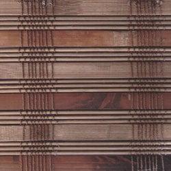 Guinea Deep Bamboo Roman Shade (33 in. x 74 in.)