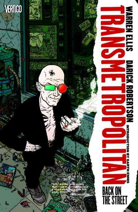Transmetropolitan 1: Back on the Street (Paperback)