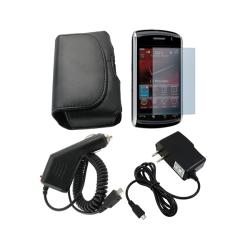 Eforcity 4-piece Accessory Kit for Blackberry Storm