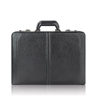 Solo Classic Leather 16-inch Expandable Laptop Attache