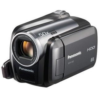 "Panasonic Palmcorder SDR-H60 Digital Camcorder - 2.7"" LCD - CCD"
