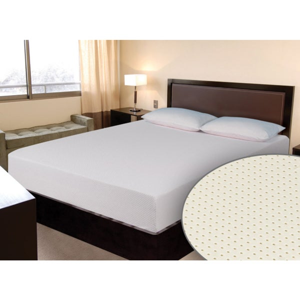 Select Luxury E.C.O. All Natural Latex Medium Firm 8-inch Twin-size Hybrid Mattress