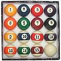 Professsional 8 Ball Billard Set Large Index