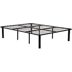 Black Steel King-size Mattress Bed Frame