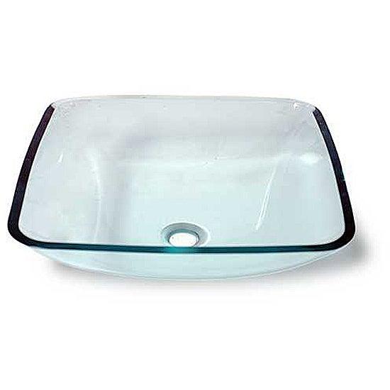 Eirwyn Glass Vessel Bathroom Sink by Flotera