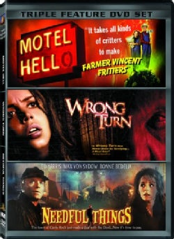 Triple Feature: Motel Hell/Wrong Turn/Needful Things (DVD)