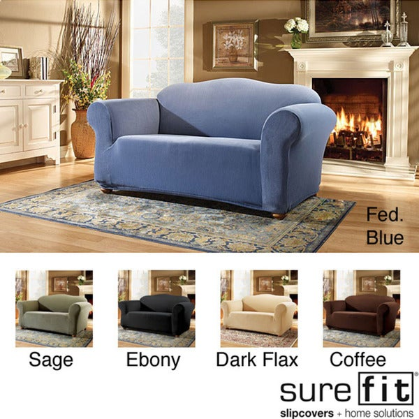 Sure Fit Pearson Stretch Sofa Slipcover Overstock