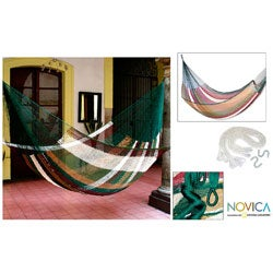 Mother Earth Large Deluxe Hammock (Mexico)