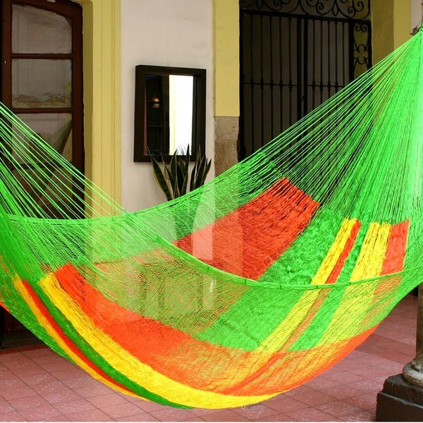 Tropical Passion Large Deluxe Hammock with Accessories (Mexico)