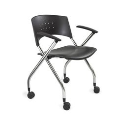 Safco xtc. Nesting Office Chairs (Set of 2)