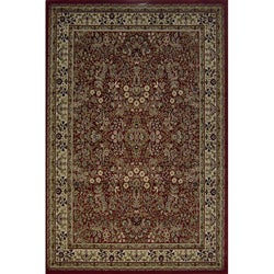Red Sarouk Traditional Rug (7'10 x 10'10)