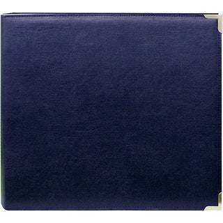 Navy 12x12 Memory Book Binder with 40 Bonus Pages