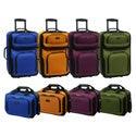 U.S. Traveler RIO 2-piece Expandable Carry-on Luggage Set