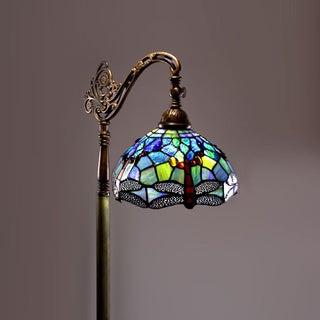 Tiffany-style Dragonfly Reading Lamp