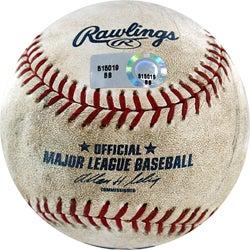 MLB Marlins at Dodgers Game-used Baseball 7/7/2007