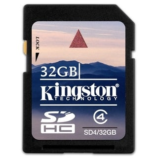 Kingston 32GB Secure Digital High Capacity (SDHC) Card - Class 4
