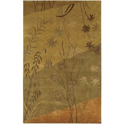 Hand-knotted Soldeu Collection Wool Rug (9' x 13')