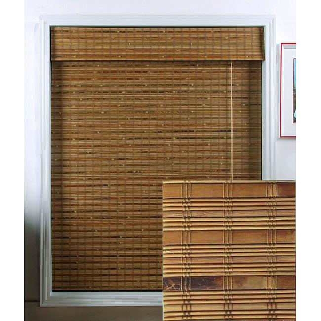 Dali Native Bamboo Roman Shade (35 in. x 54 in.)