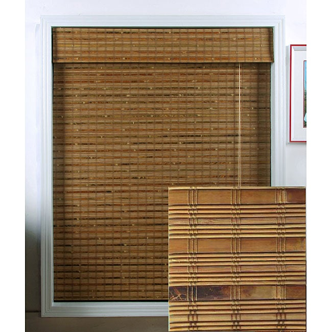 Dali Native Bamboo Roman Shade (23 in. x 74 in.)